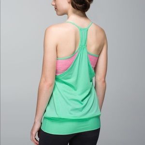 Lululemon No Limits Tank Wee Are From Space Pink